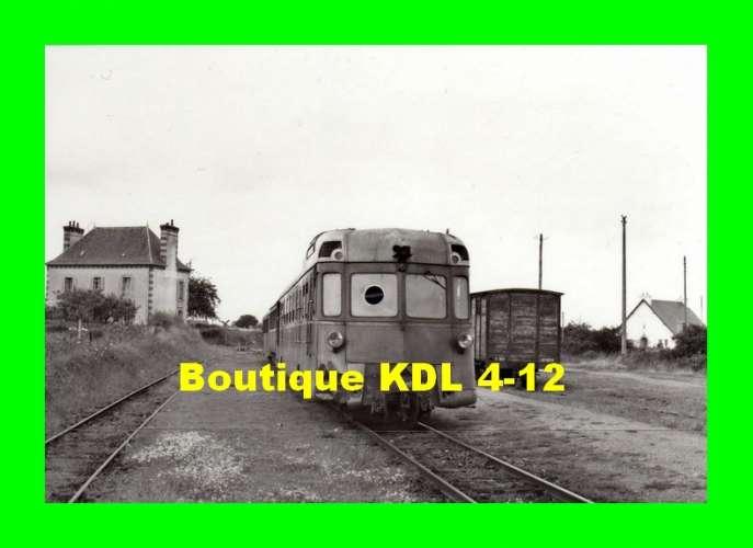 BVA 672-05 - Autorail Renault ABH 6 en gare - PORDIC - Côtes d'Armor - CDN