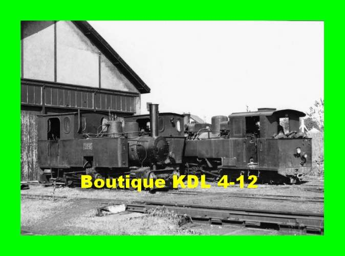 BVA 809-03 - Loco n° Oreinstein et Koppel 22-5, Koppel 3-6 et KDL 4-12 au dépôt - PITHIVIERS - TPT