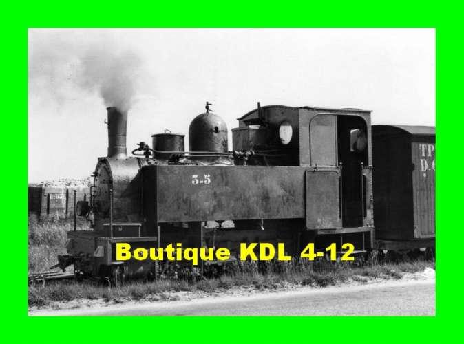 BVA 809-09 - Train, loco Blanc-Misseron n° 3-5 en gare - CHATILLON LE ROI - Loiret -TPT