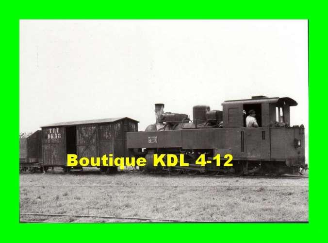BVA 809-10 - Train, loco KDL n° 4-13 avec fourgon n° DK 58 en gare - OUTARVILLE - Loiret -TPT