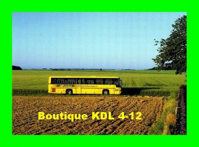 CaB 2004-6 - Autocar Transbeauce arrivant à THEUVILLE - Eure et Loir