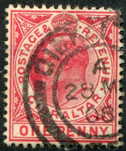 GIBRALTAR  _   Y & T  :  N°   56  (o)   -  Cote  :   1,50  €