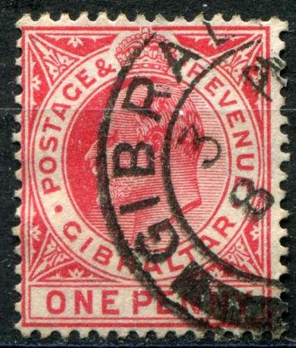 GIBRALTAR  _   Y & T  :  N°  64  (o)   -  Cote  :   1,00  €