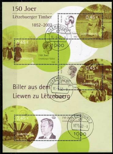 LUXEMBOURG  _  Y & T  :  BF  N°  19  (o)  -    Cote  :   10,00  €