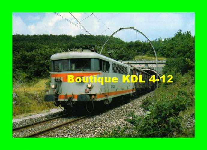 RU 0311 - Train - loco BB 9520 sortant du tunnel de Bez - LAPANOUSE - Aveyron - SNCF