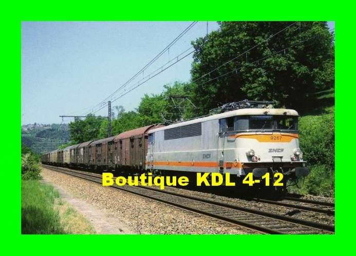 RU 0318 - Train - loco BB 9267 vers ALLASSAC - Corrèze - SNCF