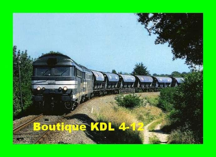 RU 0319 - Train - loco BB 67384 vers Les Mais - CALLAC - Côtes d'Armor - RB