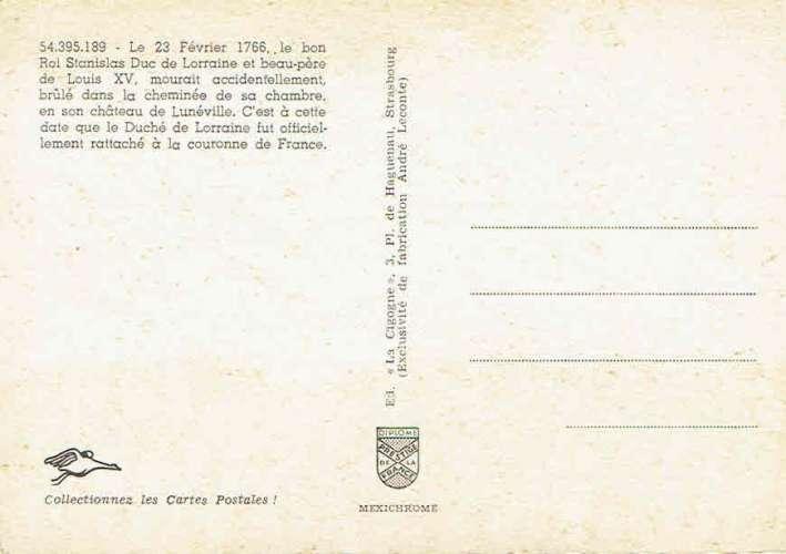 Rattachement de la LORRAINE à la France - Deuxième Centenaire