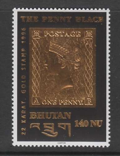 TIMBRE NEUF DU BHOUTAN - LE