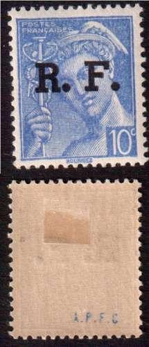France 1939-45  Libération de Lyon Y&T 1 à 15 * série de 15 timbres  cote 30,00€