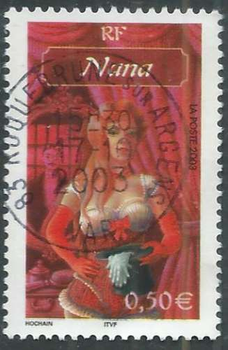 France - Y&T 3591 (o) - Nana -