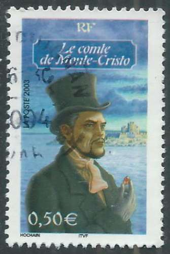 France - Y&T 3592 (o) - Le Comte de Monte-Cristo -