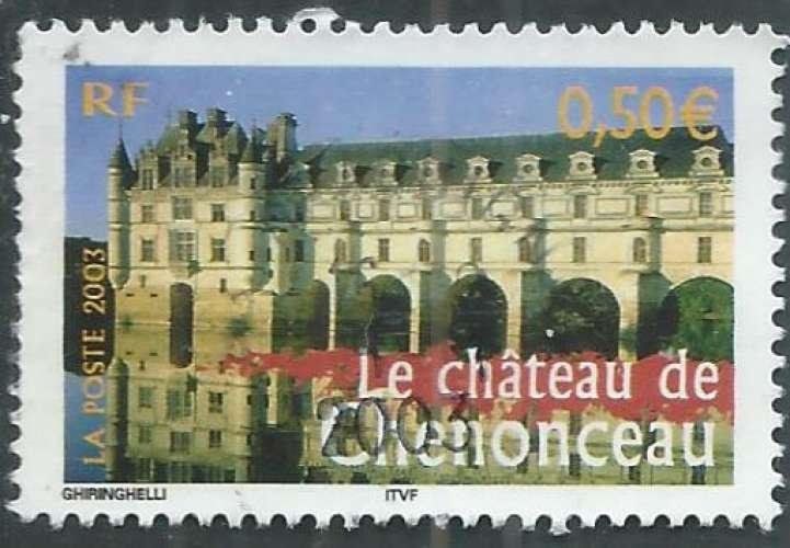 France - Y&T 3595 (o) - Château de Chenonceau -