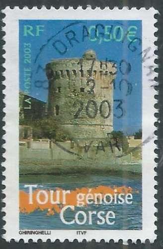 France - Y&T 3598 (o) - Tour Génoise -