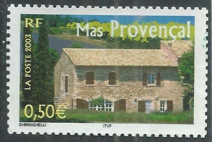 France - Y&T 3600 (o) - Mas provencal -