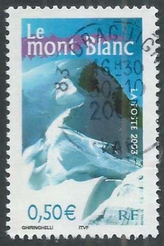 France - Y&T 3602 (o) - Le mont Blanc -