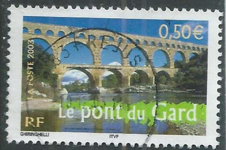 France - Y&T 3604 (o) - Le pont du Gard -