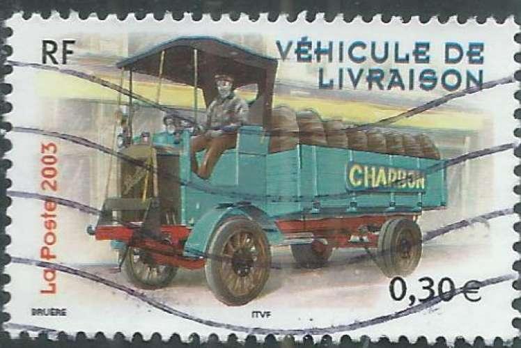 France - Y&T 3614 (o) - Véhicule de livraison -