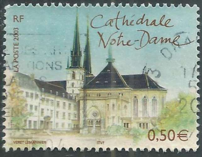 France - Y&T 3624 (o) - Cathédrale -
