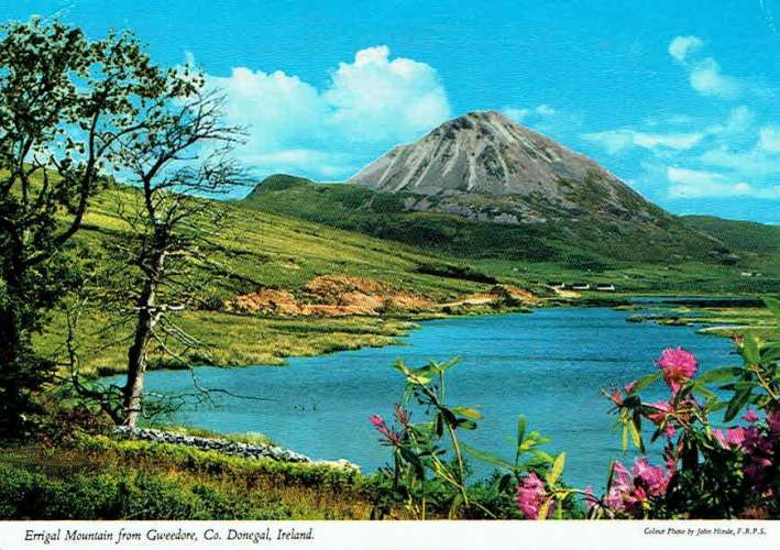 ERRIGAL Mountain from Gweedore ( Donegal)