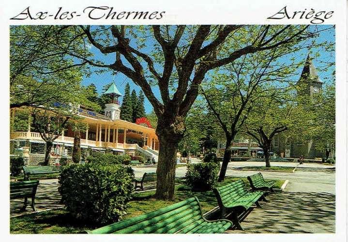 AX-LES-THERMES : Station thermale - Affr Philatélique