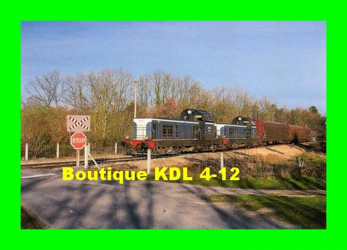 TàB 10 - Train, locos BB 66000 - BRAY EN VAL - Loiret - SNCF