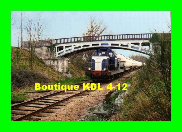 TàB 12 - Train, loco BB 66310 - BRAY EN VAL - Loiret - SNCF