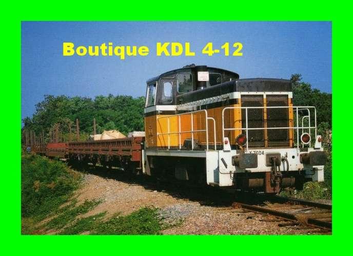 TàB 13 - Train de travaux - Locotracteur Y 7604 - BRAY EN VAL - Loiret - SNCF