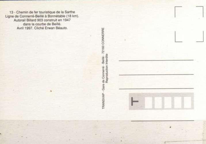 Transvap 13 - Autorail Billard A 75 D n° 903 - BEILLE - Sarthe