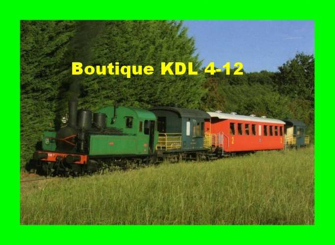 Transvap 41 - Train, loco Corpet-Louvet 030 T n° 9 au Pont - TUFFE - Sarthe
