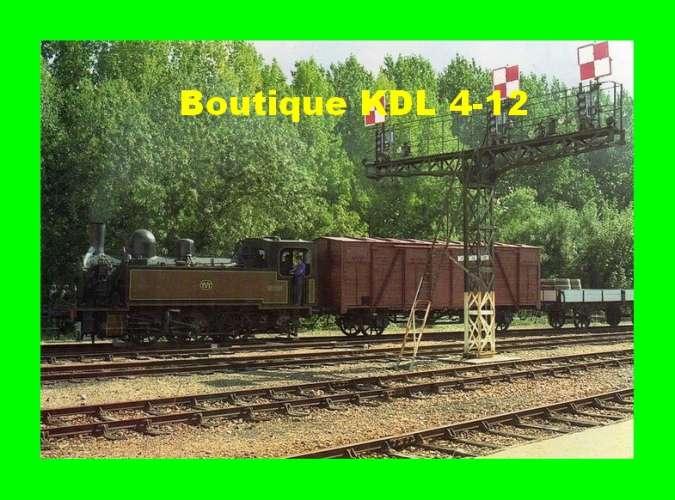 TVT 13 - Train - loco Fives Lille 030 T n° 5 en gare - CHINON - Indre et Loire - TVT
