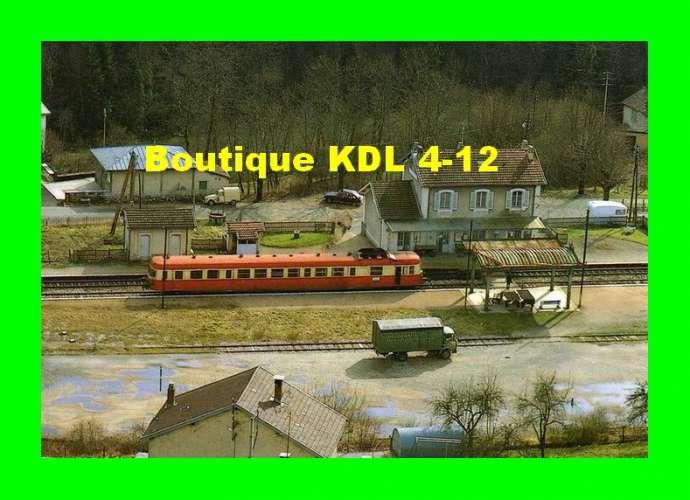 RU CT 09 - Autorail X 2863 en gare de LAVANS-SAINT-LUPICIN - Jura - SNCF