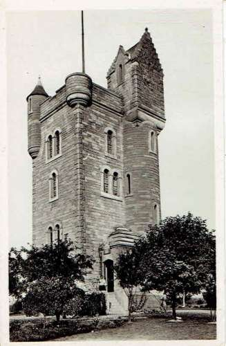 CPSM  ALBERT THIEPVAL : Le Monument Irlandais - Grande Guerre 14-18