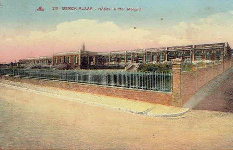 CPA  BERCK-PLAGE : Hôpital Victor Ménard