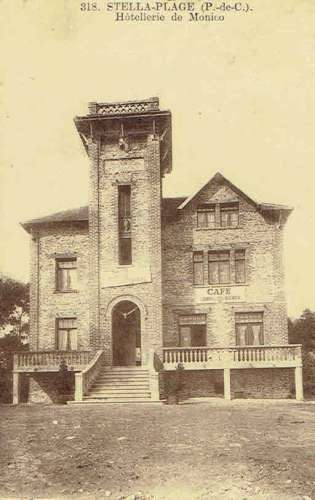 CPA  STELLA-PLAGE : Hôtellerie de Monico