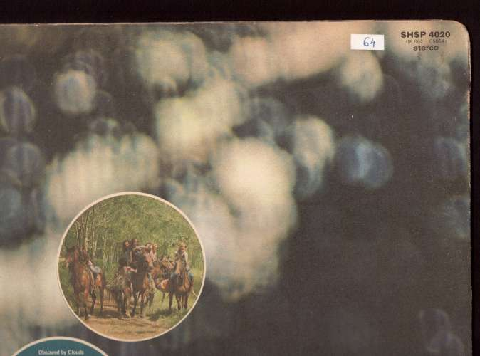 Vinyle 1972 UK Pink Floyd Obscured by clouds Harvest SHSP 4020  ( 1E 062- 05054 )