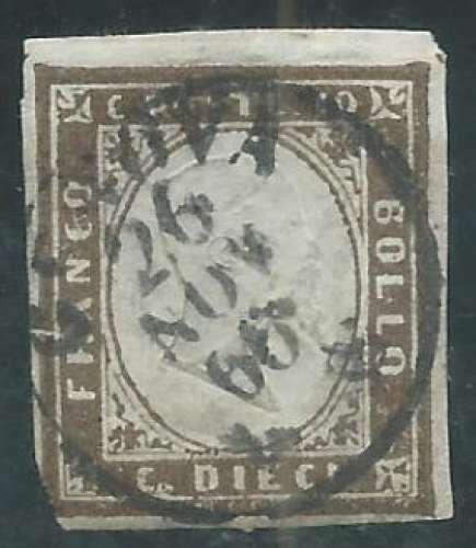 Sardaigne - Y&T 0011a (o)