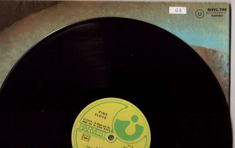 Vinyle 1971 France Pink Floyd Meddle  Harvest SHVL 795   2C IE 064 04917