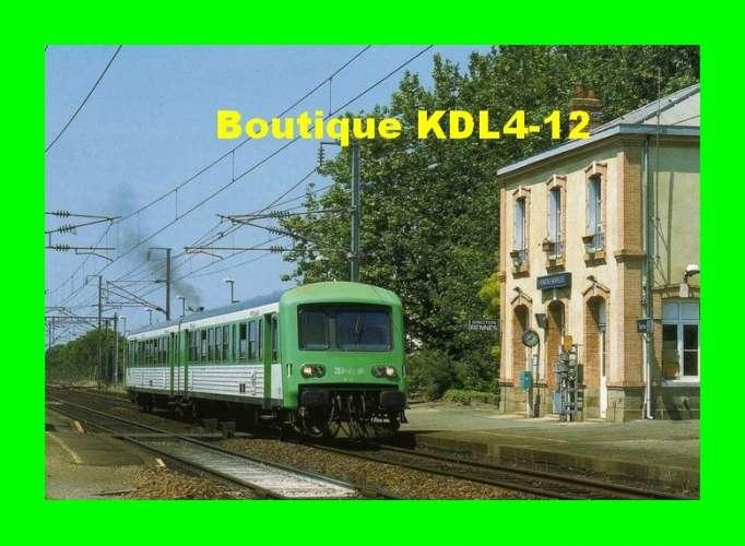 ACACF 169 - Autorail Caravelle X 4500 en gare - L´HERMITAGE MORDELLES - Ille et Vilaine - SNCF