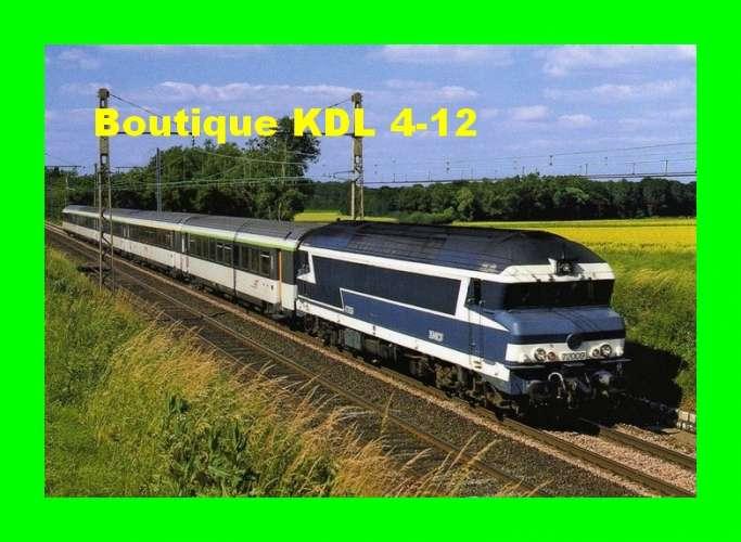 RU 0867 - Train - loco CC 72009 vers GEVREY CHAMBERTIN - Côte d'Or - SNCF