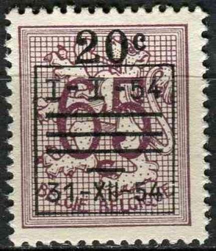 BELGIQUE 1952 OBLITERE N° 941