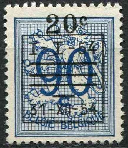BELGIQUE 1954 OBLITERE N° 942