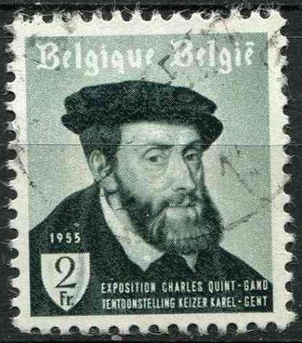 BELGIQUE 1955 OBLITERE N° 965