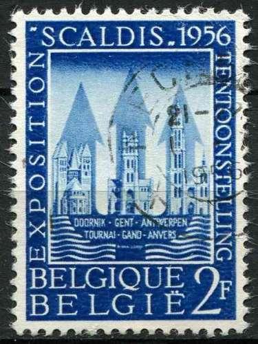 BELGIQUE 1956 OBLITERE N° 990