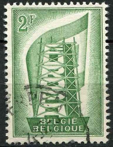 BELGIQUE 1956 OBLITERE N° 994 europa