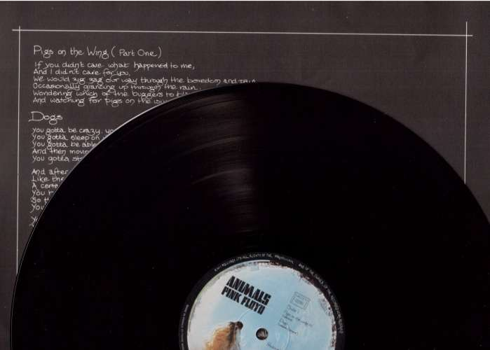 Vinyle 1977  France  Pink Floyd   Animals Pink Floyd Music Publishers Ltd  2C 068 98464