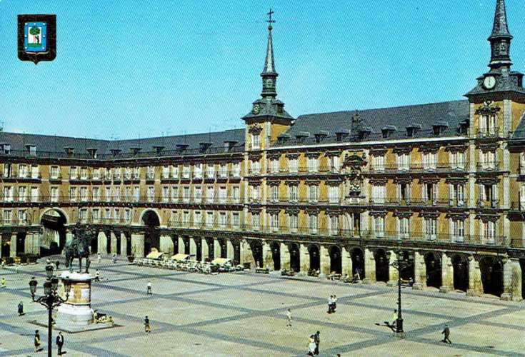 MADRID : Place Mayor