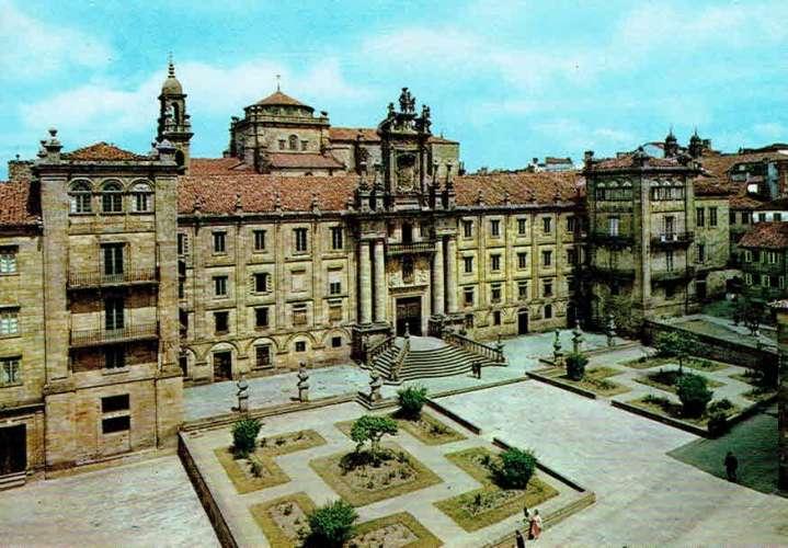 SANTIAGO DE COMPOSTELA : Séminaire de San Martin Pinario