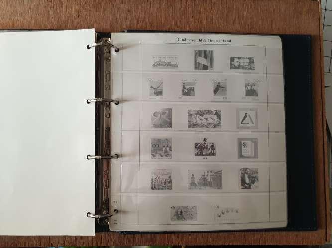Allemagne - Album + feuilles 1993-1998 (Band 4) sans timbre - Bon état