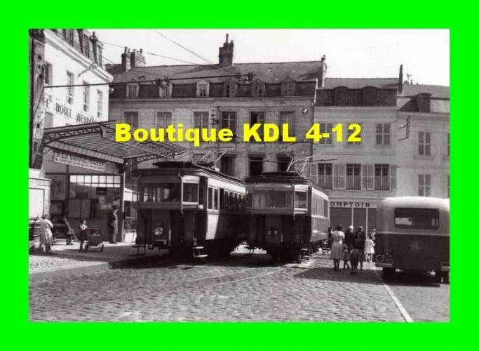 ACACF Tram 027 - Automotrices de la Crémaillère de LAON place du Maréchal Leclerc - LAON - Aisne 02